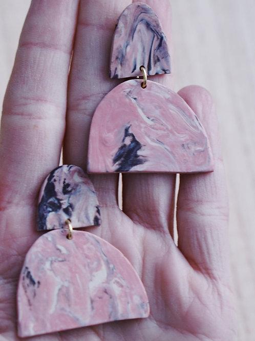 - MARIE - polymer clay earrings
