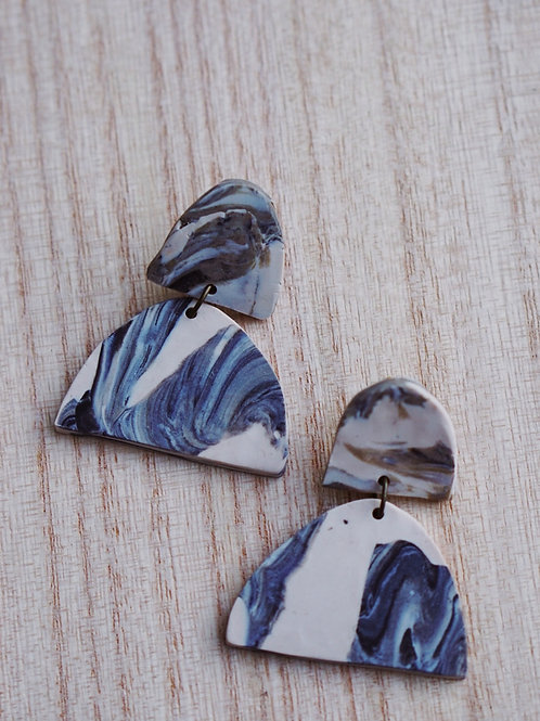 - MAX - polymer clay earrings