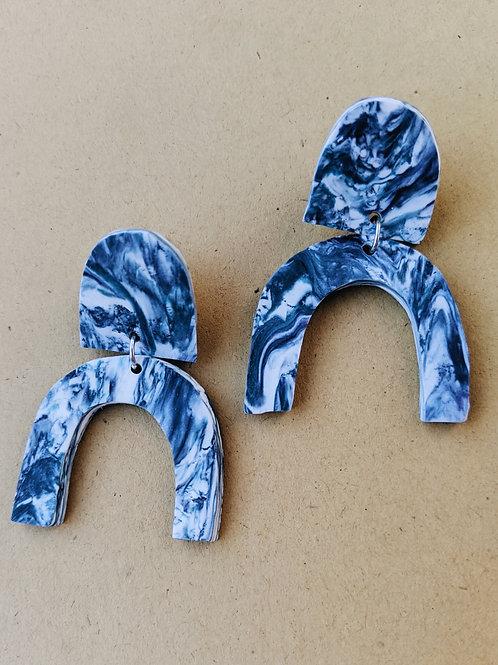 - GWEN - polymer clay earrings