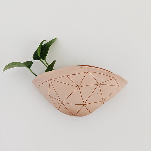 - GEOTRIANGLE - wall pocket planter