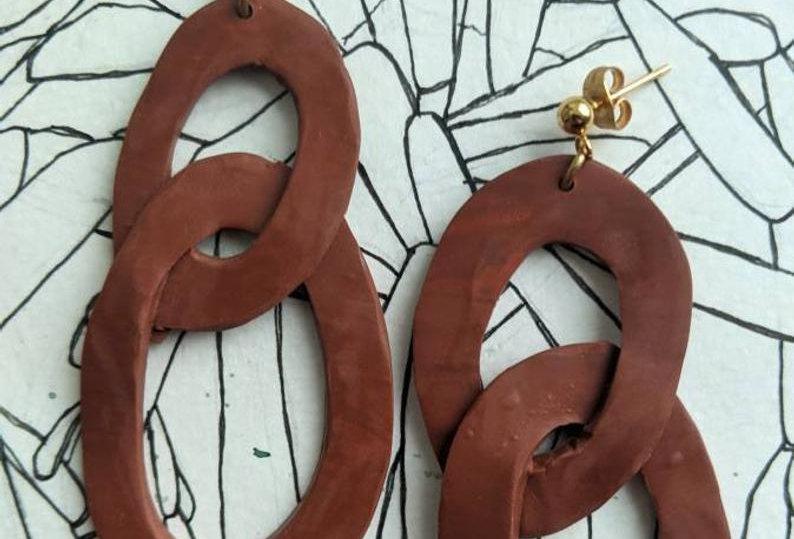 LYRIC - Polymer Clay Earrings