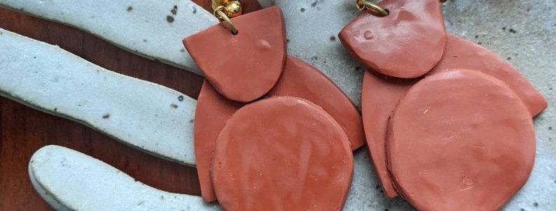 MARIA - Polymer Clay Earrings