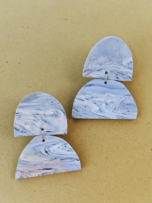 - ELLE - polymer clay earrings
