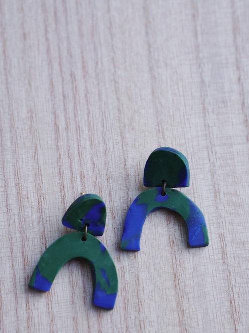 - KATIE - polymer clay earrings