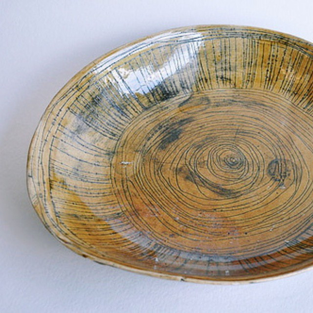Gold Sgraffito #Bowl