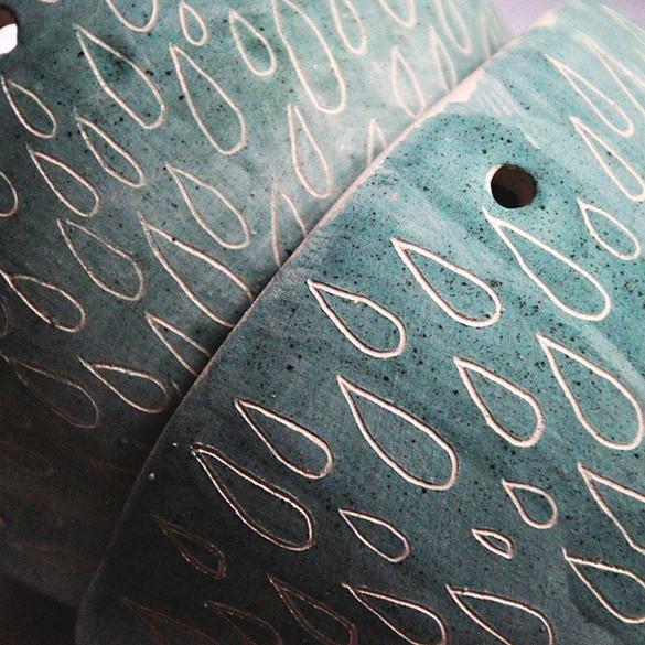 #clearance #pottery #ceramics #sgraffito #dspattern  #vscoc
