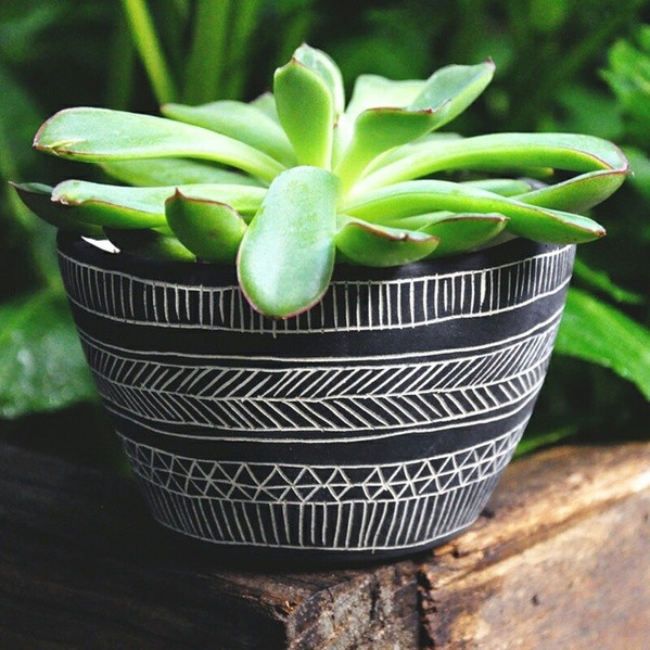 Updating my #Etsy with some new #planters...this little #pot is first up in the shop.jpg