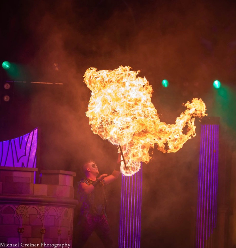 Fire Performing
