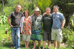 Our hosts in Doubtless bay NZ 2014