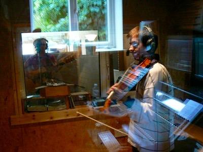 Recording Angels' Share album 2009