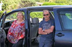 Pete and Anne-Marie, NZ 2014