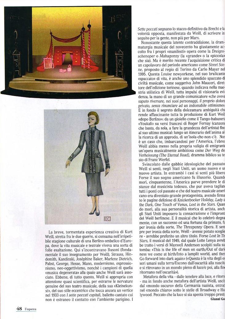 LADY IN THE DARK- PRESS - L'OPERA 4
