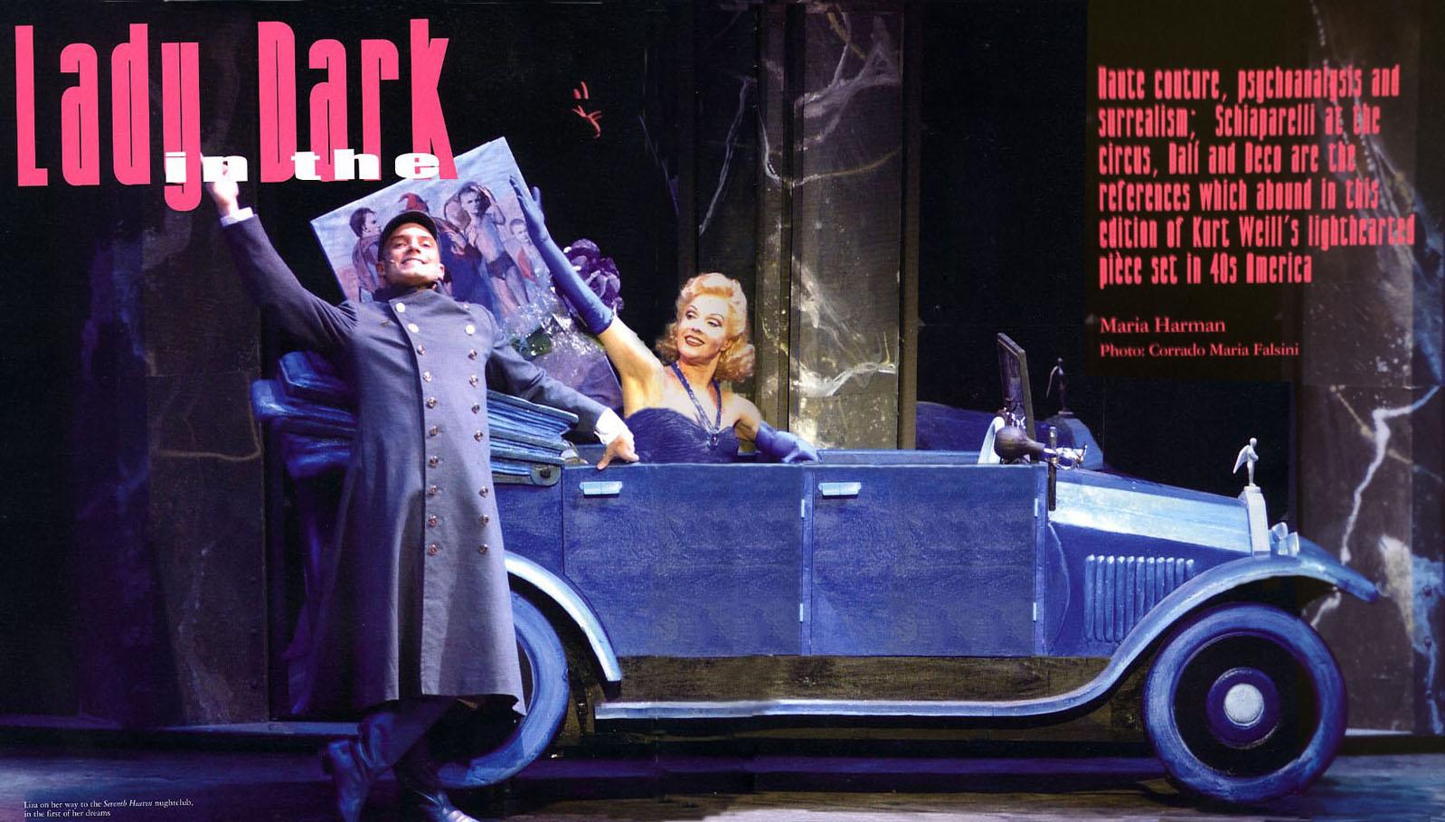LADY IN THE DARK-PRESS- Scenographer