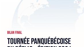 Bilan final - Tournée panquébécoise du Défi48 (Édition 2021)