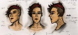 Maka face study