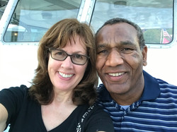 My husband and I celebrating our 30th wedding Anniversary - Baltimore, MD.