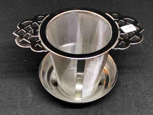 Dauer-Teefilter mit Ablage