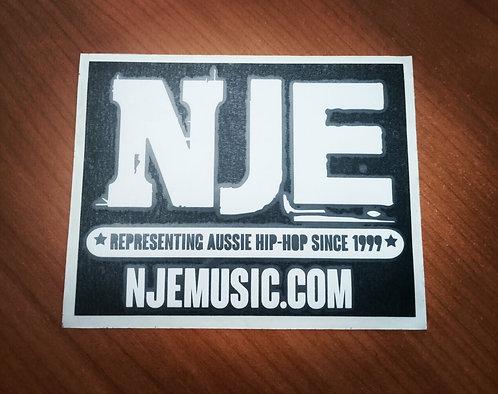 NJE Car Sticker