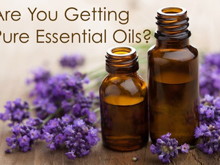 Are You Getting Pure Essential Oils?