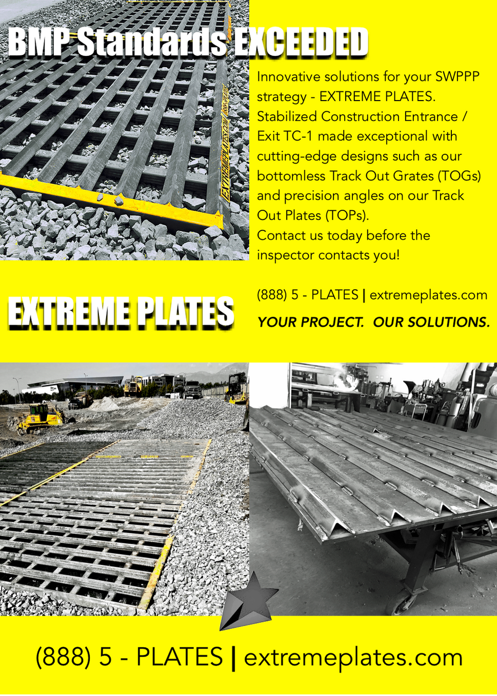 Shaker Plates, Rumble grates, SWPPP, Rumble plates, Trench plates, road plates