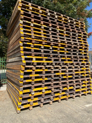 Steel Track Out Grates for Stabilized En