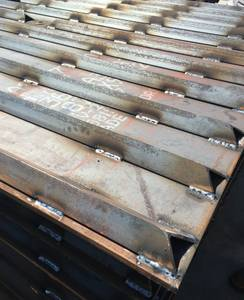 Steel Track Out Plates (TOPs)