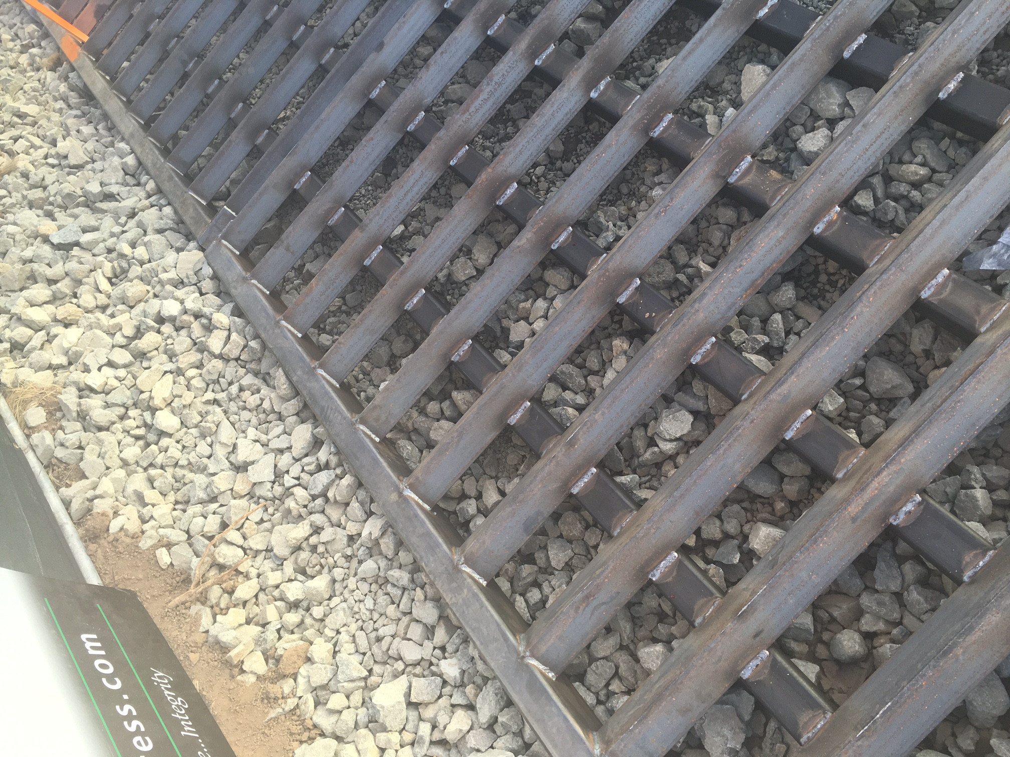 Track Out Plates / Grates