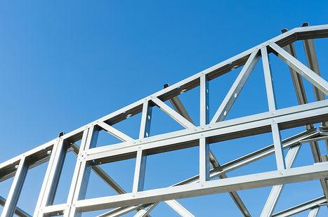 New technology steel frame for construction.jpg