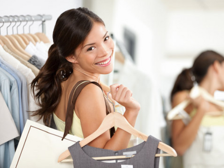 Why I shop for clothes the same way I do my grocery shopping