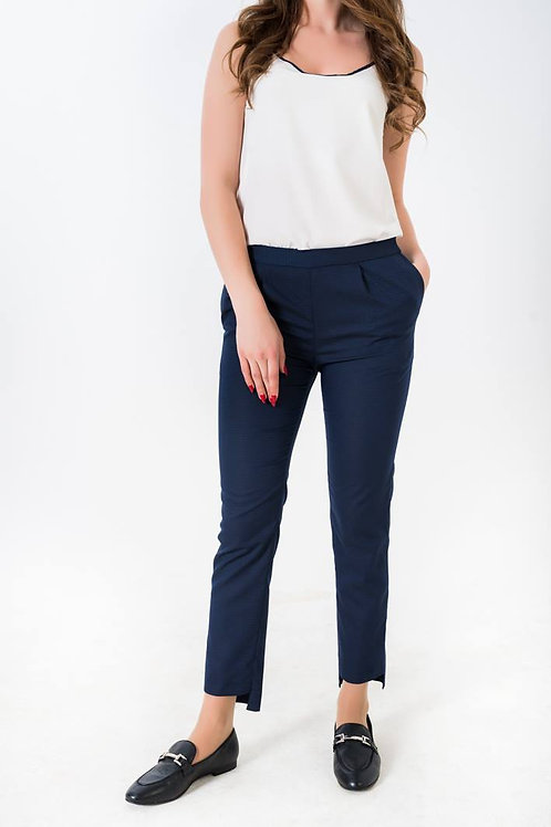 Navy blue 7/8 length pants