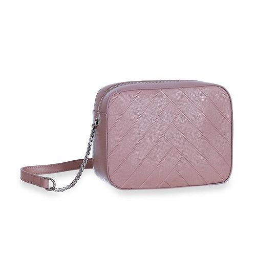Sincera Lilac CrossBody Handbag