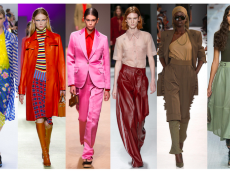 Main Colour Trends for Spring-Summer 2019