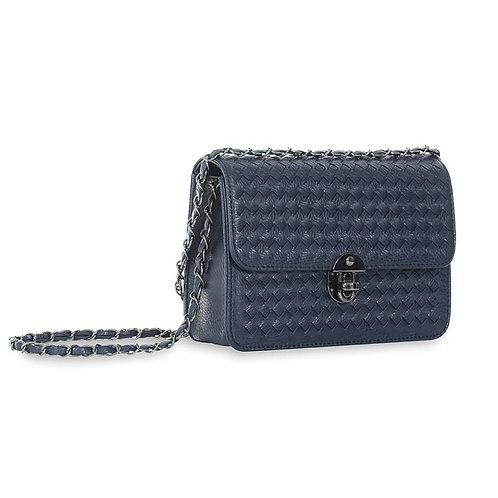 Sincera Blue Shoulder Handbag