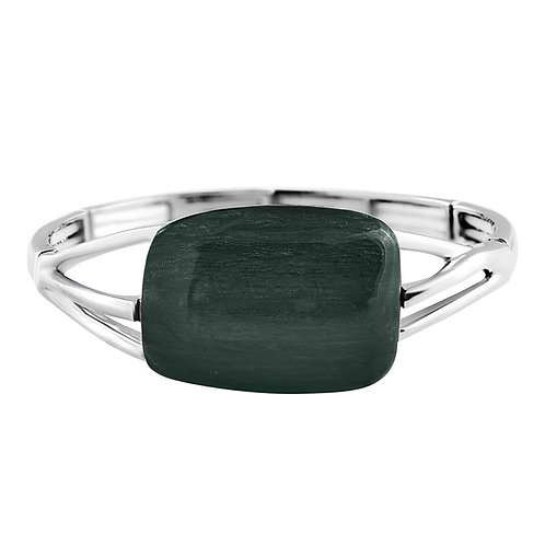 Green Organic Glass Bracelet