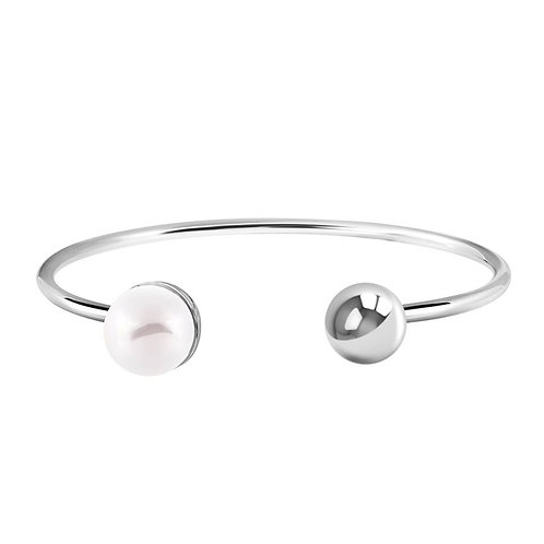 Sincera Cuff Bracelet With Pearl