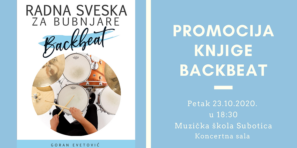 Promocija knjige Backbeat