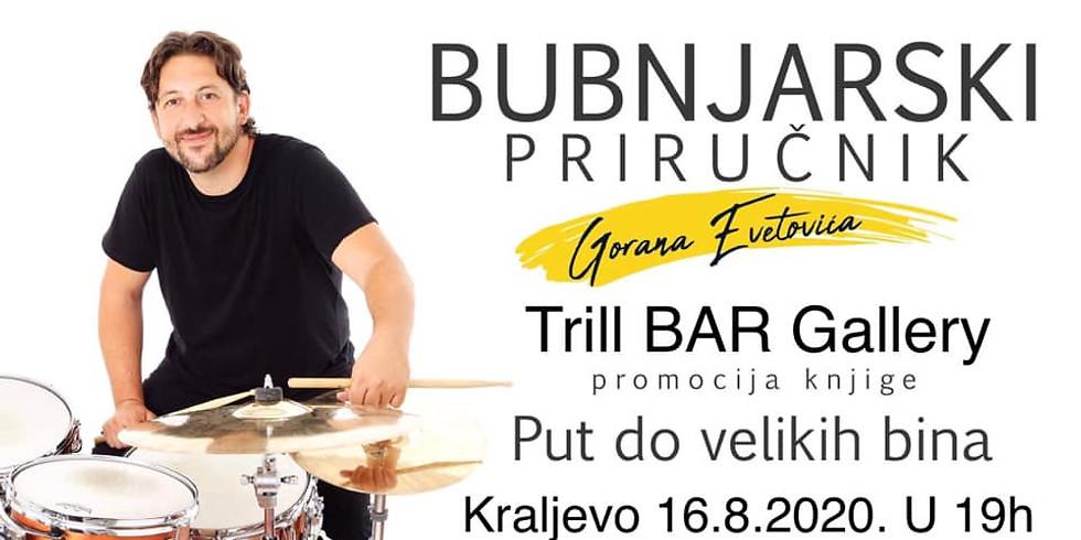 Radionica za bubnjare i promocija knjige