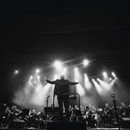 Fedor Vratačnik whit the Orchestra