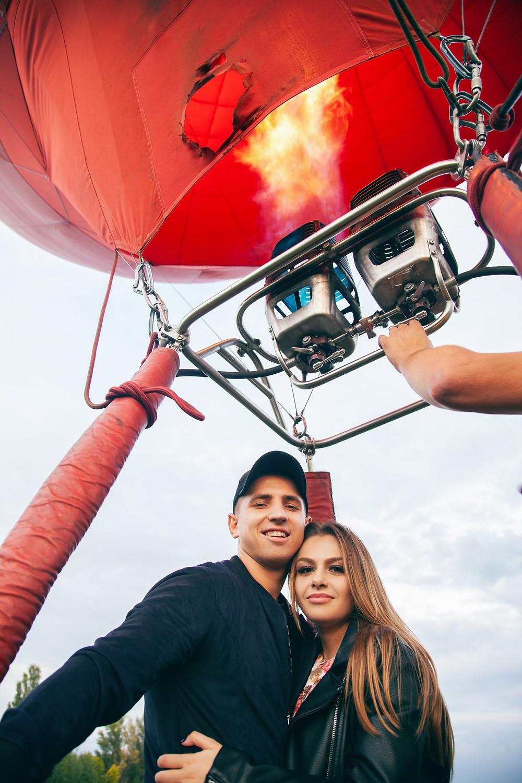 Романтика на воздушном шаре, Киев, сервис романтики Альтече