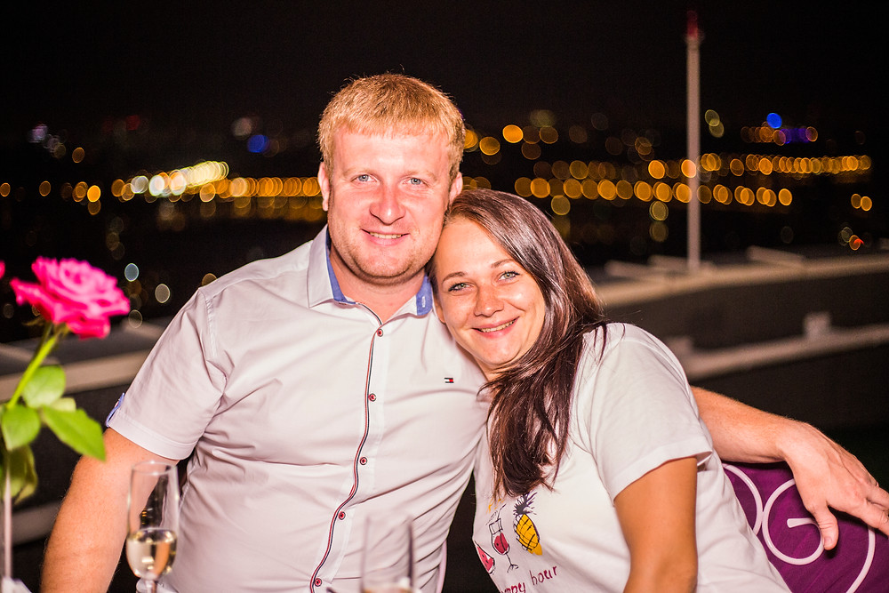 Вечер на крыше, Киев, сервис романтики Альтечо