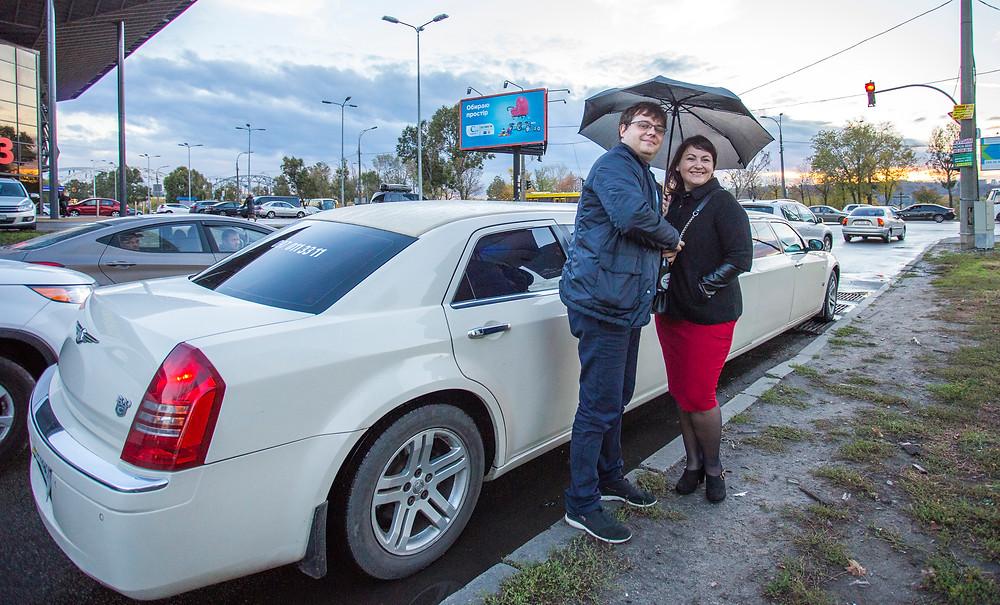 Свидание в лимузине, Киев, сервис романтики Альтечо
