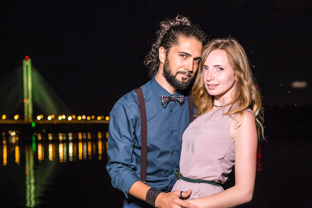 Романтика на плоту, Киев