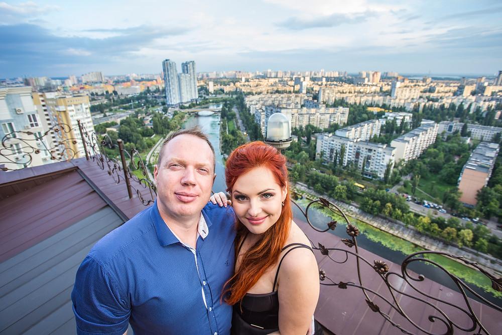 Свидание на террасе, сервис романтики Альтечо, Киев