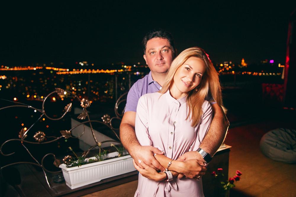 Романтическое свидание на террасе, сервис романтики Альтечо