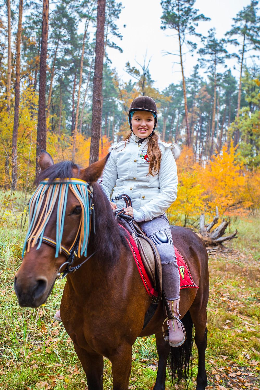 Прогулка на лошадях, сервис романтики Альтечо