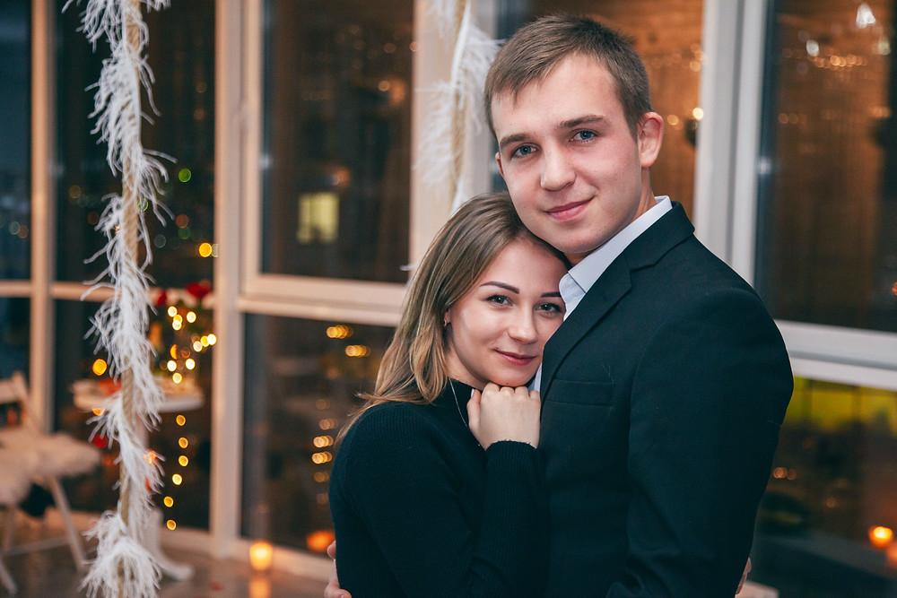 Сделать предложение, Киев, сервис романтики Альтечо