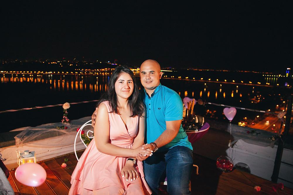 Ужин в необычном месте, сервис романтики Киев, Альтечо