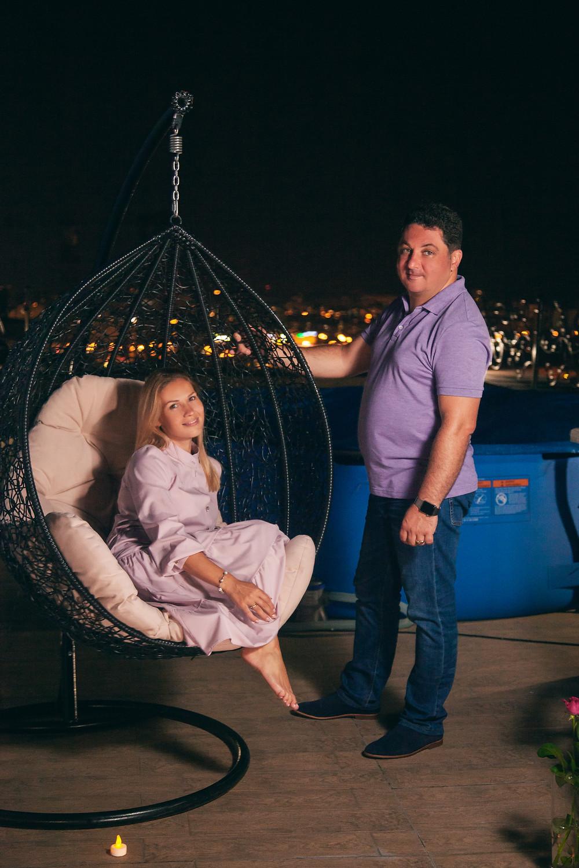 Романтический вечер на террасе, Киев