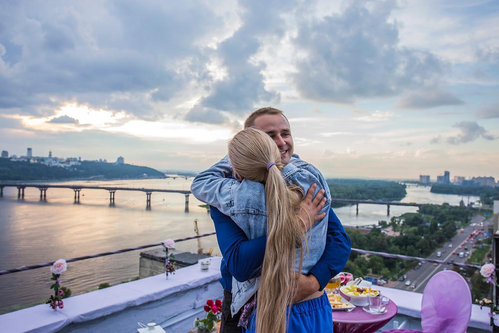 Свидание на крыше, Киев, Сервис романтики Альтечо,