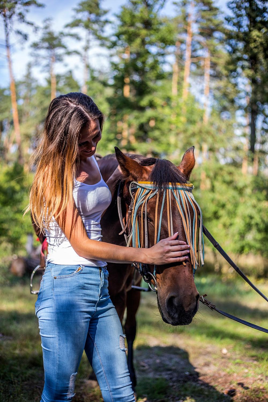 Романтическая прогулка на лошадях, Киев, сервис романтики Альтечо
